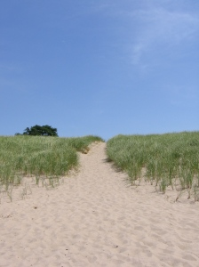 Sand is good.
