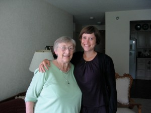 The next day I visited with my grandma, and we talked about her many travels. She recommended Escalante in Utah.
