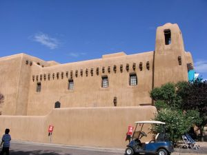 Pretty much every single building in Santa Fe looks like this, seriously.
