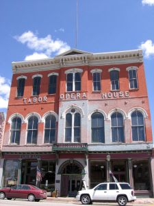 The Tabor Opera House, downtown Leadville.