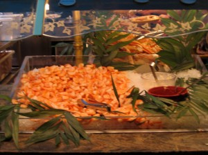 I could have eaten every single one of these shrimp, and no one could have stopped me.