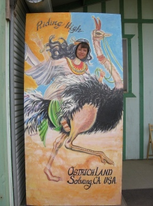 Riding an ostrich, no big whoop.