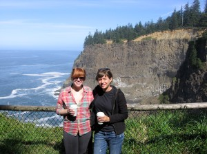 The next day, we went to a lighthouse on the Oregon coast with a great view.