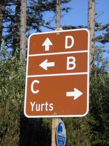 Turn right, duh.