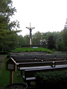 the cross in the woods
